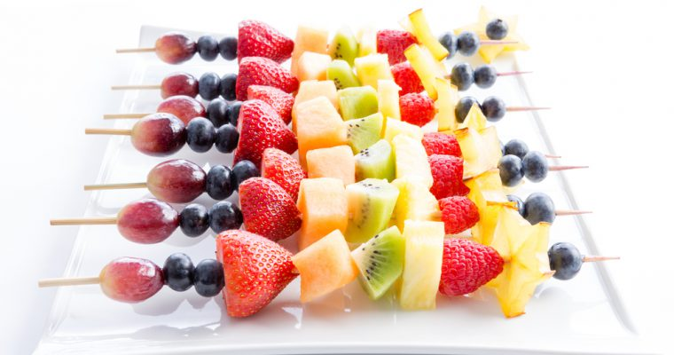 Easy Fruit Skewers